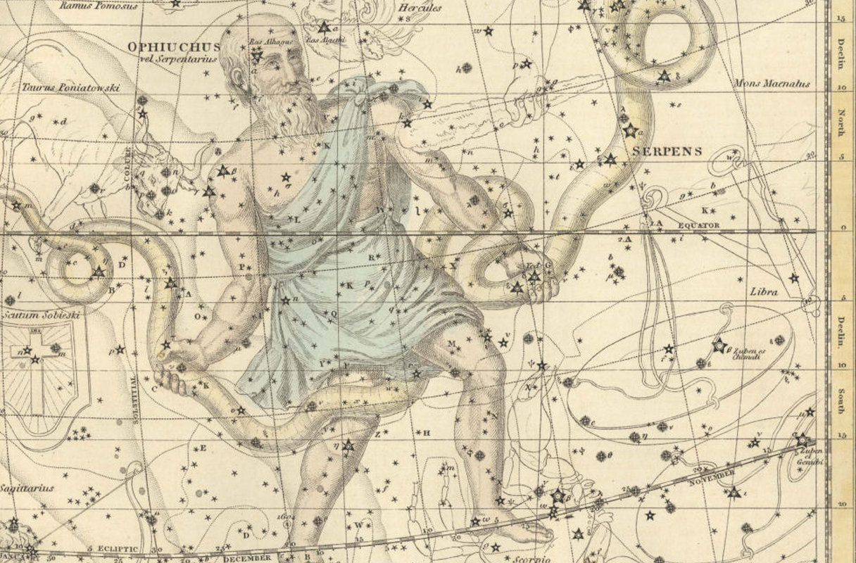 Ophiuchus. Not a new sign, so everyone calm down.