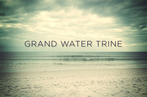 While the Grand Water Trine will be exact on July 17, 2013, we will feel its effects into August.