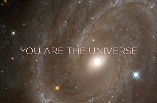 You are the Universe.