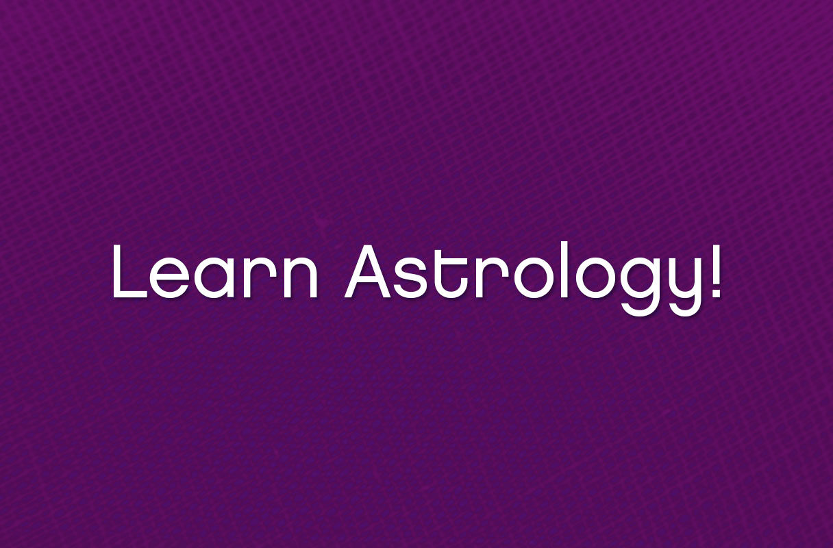 Learn astrology from the comfort of your own home!